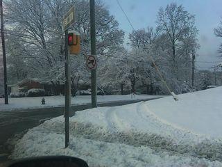 Snow in Greensboro