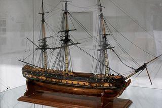 Maturity Models - Image of a representative ship model