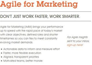 Agile Marketing, Agile for Marketing, CMG Partners