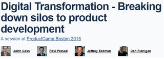 ProductCamp Digital Transformation Session